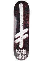 DEATHWISH Deck Gang Logo 8.0 blood black/white