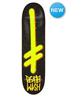 DEATHWISH Deck Gang Logo 8.2 black/yellow spray