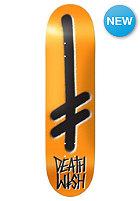DEATHWISH Deck Gang Logo Orange/Black 8.0 orange