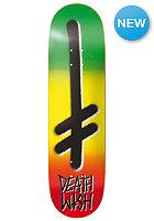 DEATHWISH Deck Gang Logo Rasta 7.8 one colour