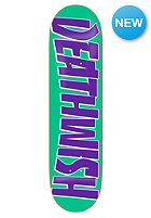 DEATHWISH Deck Trash Death 8.1 teal/purple