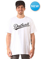 DEATHWISH Dragon S/S T-Shirt white/black