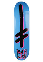 DEATHWISH Gang Logo Deck cyan/black 8.0 one color