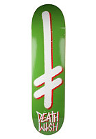 DEATHWISH Gang Logo Deck green/white 8.0 one color