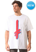 DEATHWISH Gang Logo S/S T-Shirt ash/red/blue