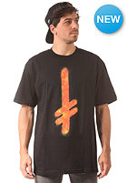 DEATHWISH Gang Logo S/S T-Shirt black/fire