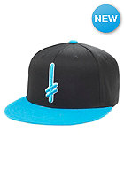 DEATHWISH Gang Logo Snapback Cap black/blue