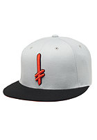 DEATHWISH Gang Logo Snapback Cap grey/orange/black