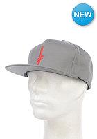 DEATHWISH Gang Logo Snapback Cap grey/red