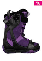 DEELUXE Womens Velvet Lara Boot 2012 black/lilac 