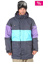 DESTYN VIA John Hancock Jacket mid/ethernet blue/purple