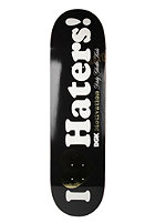 DGK Deck Team Haters Foil Black 8.38 black