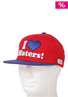 DGK DGK Haters Cap black/red (Adjustable - One Size) red/royal
