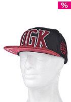 DGK Dugout Snapback Cap Black/Red