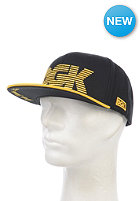 DGK Movement Snapback Cap black/yellow