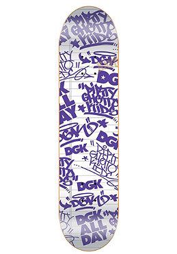 DGK Team Black Book white Deck 7.56