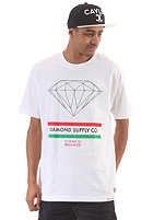 DIAMOND 15 Years of Brilliance S/S T-Shirt white