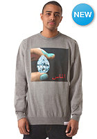 DIAMOND Arabic Shining Sweatshirt gunmetal heather