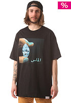DIAMOND Arabic Shinning S/S T-Shirt black