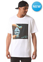 DIAMOND Arabic Shinning S/S T-Shirt white