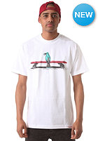DIAMOND Blue Bird S/S T-Shirt white