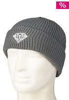 DIAMOND Brilliant Fold Beanie heather grey