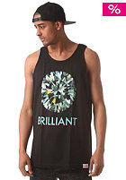 DIAMOND Brilliant Tank Top black