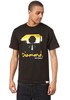 DIAMOND Cable Car S/S T-Shirt black