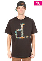 DIAMOND Camo Un-Polo S/S T-Shirt black