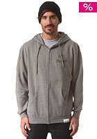 DIAMOND Coveted Hooded Zip Sweat heather grey