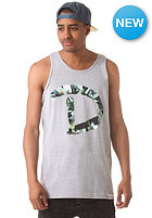 DIAMOND D Simple Tank Top heather grey