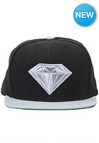 DIAMOND Emblem Snapback Cap black/grey
