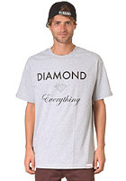 DIAMOND Everything S/S T-Shirt heather grey