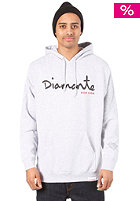 DIAMOND For Life Hooded Sweat heather grey