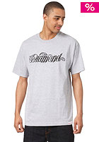 DIAMOND Giant Script S/S T-Shirt heather grey