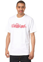 DIAMOND Giant Script S/S T-Shirt white