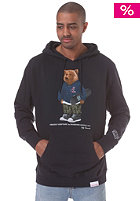 DIAMOND Grizzly Bear by Diamond Hooded Sweat navy
