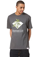DIAMOND Homegrown S/S T-Shirt charcoal