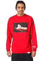 DIAMOND Imprint Sweat red