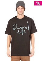 DIAMOND Life Script S/S T-Shirt black