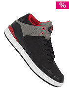 DIAMOND Marquise Shoe black red nubuck