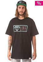 DIAMOND Neon S/S T-Shirt black