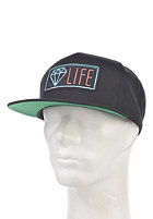 DIAMOND Neon Snapback Cap black/black