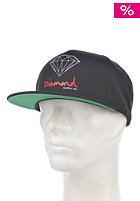 DIAMOND OG Logo Snapback Cap black