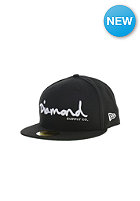DIAMOND OG-Script Fitted Cap black