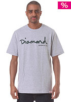 DIAMOND OG Script S/S T-Shirt heathergrey
