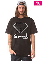 DIAMOND Paisley S/S T-Shirt black