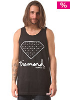 DIAMOND Paisley Tank Top black