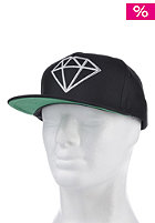 DIAMOND Rock Logo Snapback Cap black