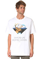 DIAMOND Sporting Goods S/S T-Shirt white